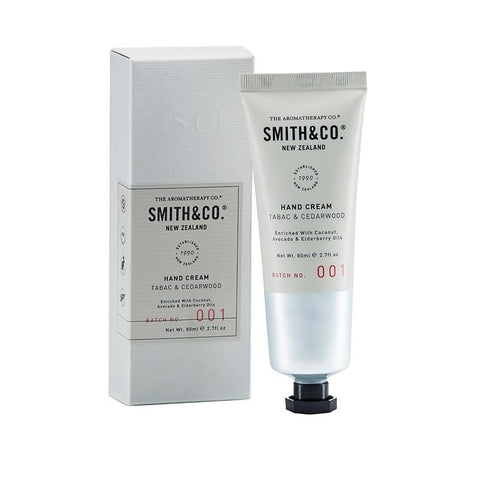 Smith & Co. - Hand Cream 80ml - Tabac & Cedarwood