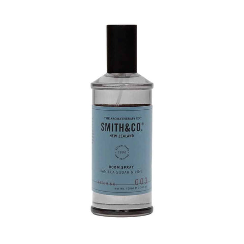 Smith & Co. - Room Spray 100ml - Vanilla Sugar & Lime