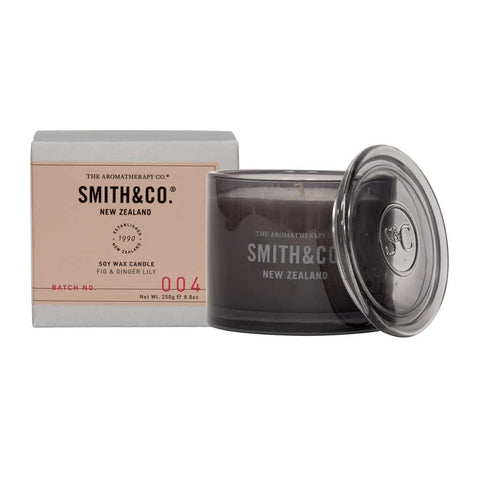 Smith & Co. - Soy Wax Candle 250g - Fig & Ginger Lily