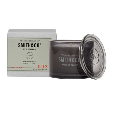Smith & Co. - Soy Wax Candle 250g - Lime & Coconut