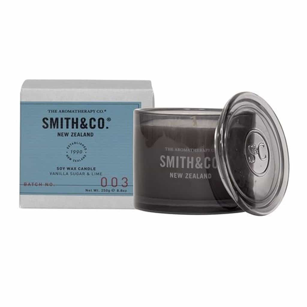 Smith & Co. - Soy Wax Candle 250g - Vanilla Sugar & Lime