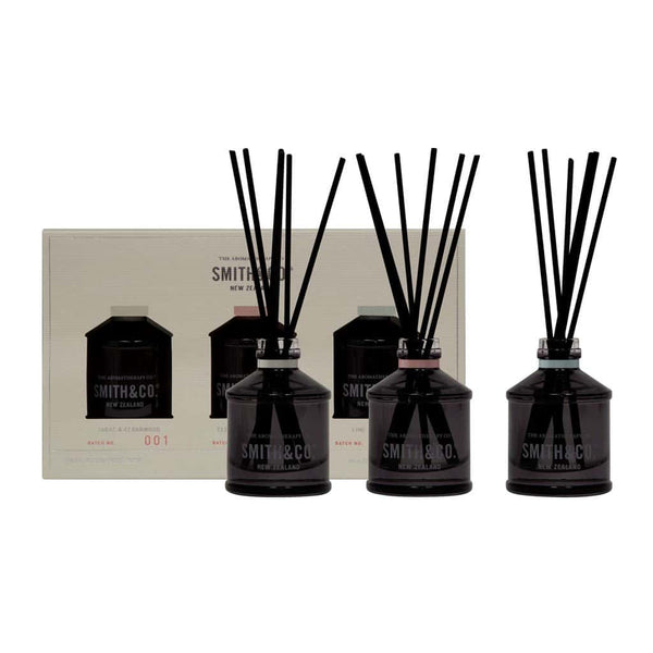 Smith & Co. - Trio Diffuser Set - 3x40ml