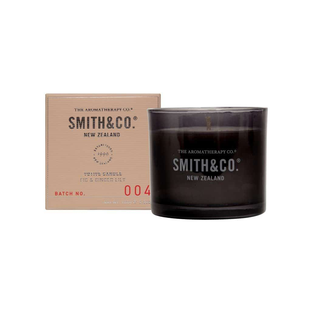 Smith & Co. - Votive Candle 100g - Fig & Ginger Lily