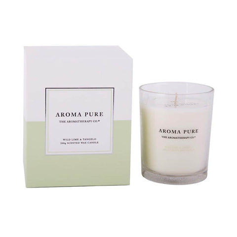 The Aromatherapy Co. - Aroma Pure - Candle 200g - Wild Lime & Tangelo