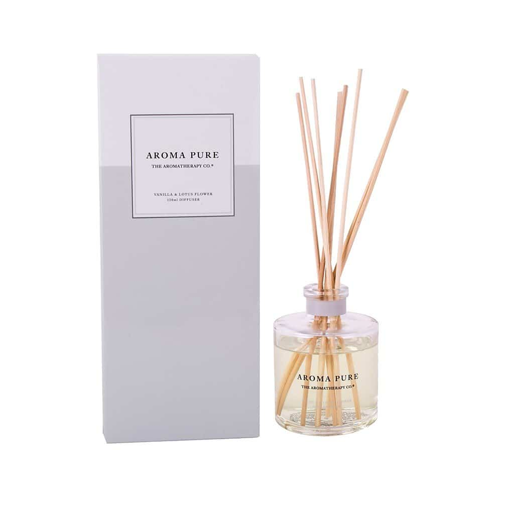 The Aromatherapy Co. - Aroma Pure - Diffuser 120ml - Vanilla & Lotus Flower
