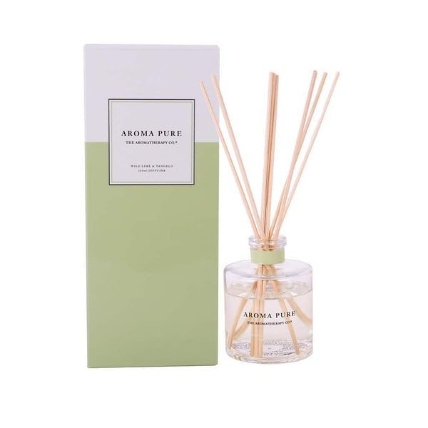 The Aromatherapy Co. - Aroma Pure - Diffuser 120ml - Wild Lime & Tangelo