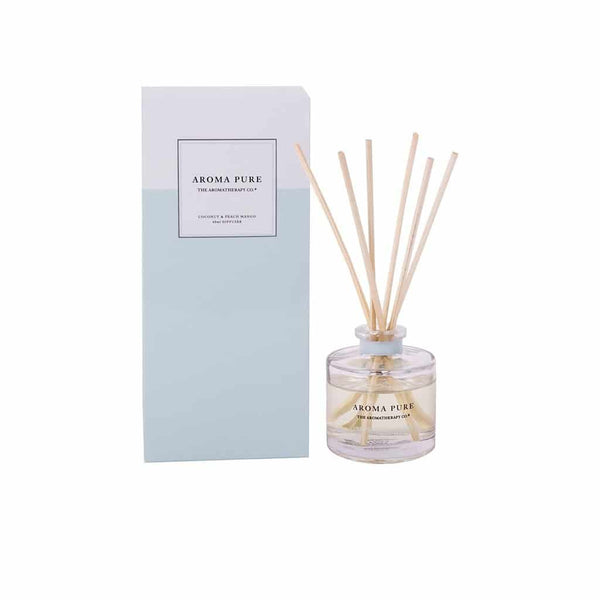 The Aromatherapy Co. - Aroma Pure - Mini Diffuser 40ml- Coconut & Peach Mango
