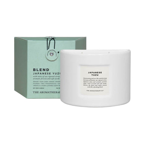 The Aromatherapy Co. - Blend - Soy Wax Candle 280g - Japanese Yuzu