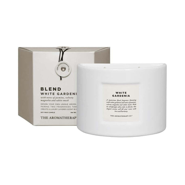 The Aromatherapy Co. - Blend - Soy Wax Candle 280g - White Gardenia