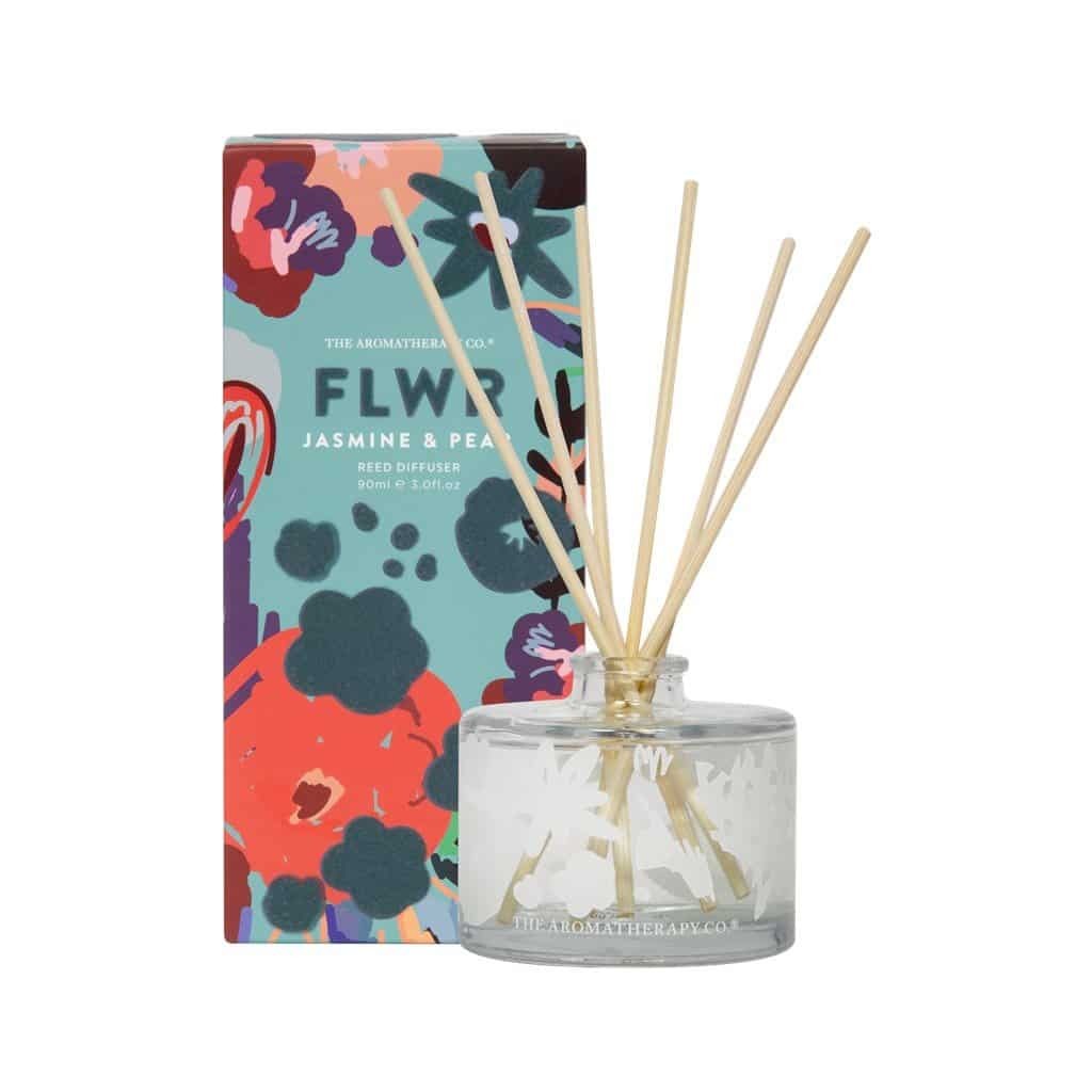 The Aromatherapy Co. - FLWR - Diffuser 90ml - Jasmine & Pear