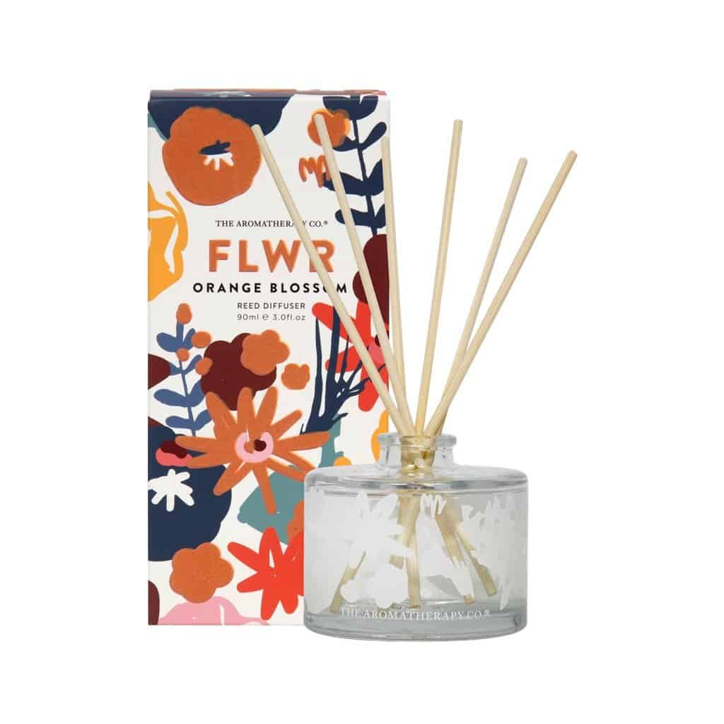 The Aromatherapy Co. - FLWR - Diffuser 90ml - Orange Blossom