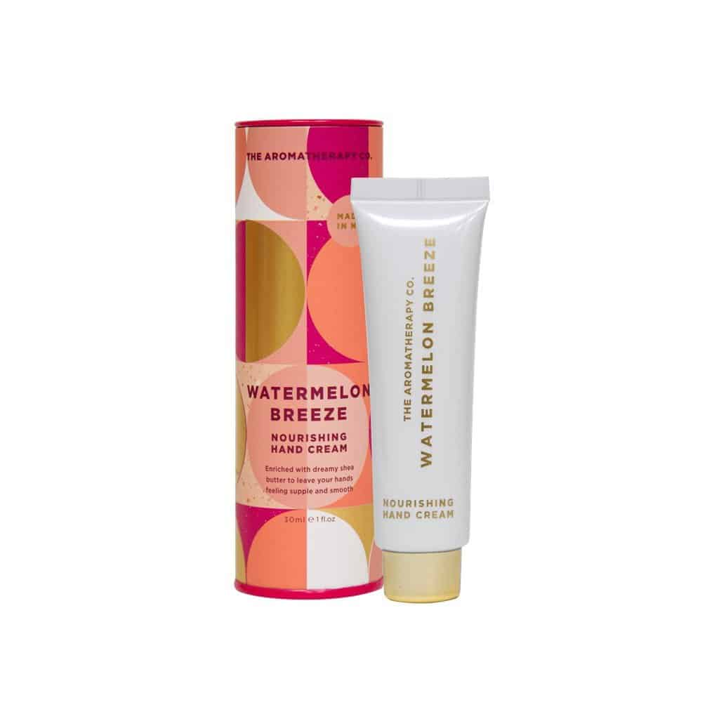 The Aromatherapy Co. - Hand Cream 30ml - Watermelon Breeze