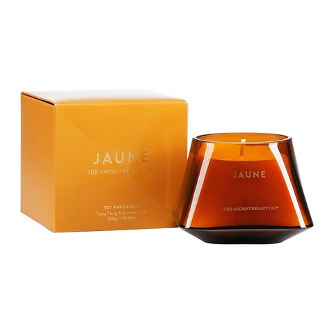 The Aromatherapy Co. - Jaune - Soy Wax Candle 300g - Ylang Ylang & Jasmine Musk