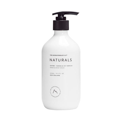 The Aromatherapy Co. - Naturals - Alpine - Hand & Body Wash 400ml - Cocoa & Icy Vanilla