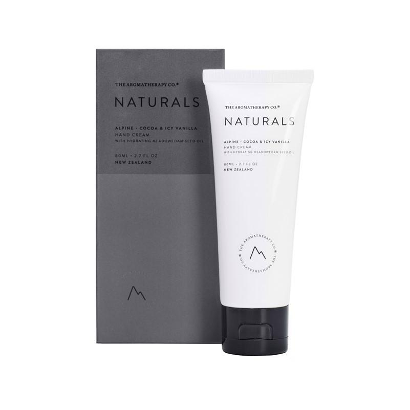 The Aromatherapy Co. - Naturals - Alpine - Hand Cream 80ml - Cocoa & Icy Vanilla