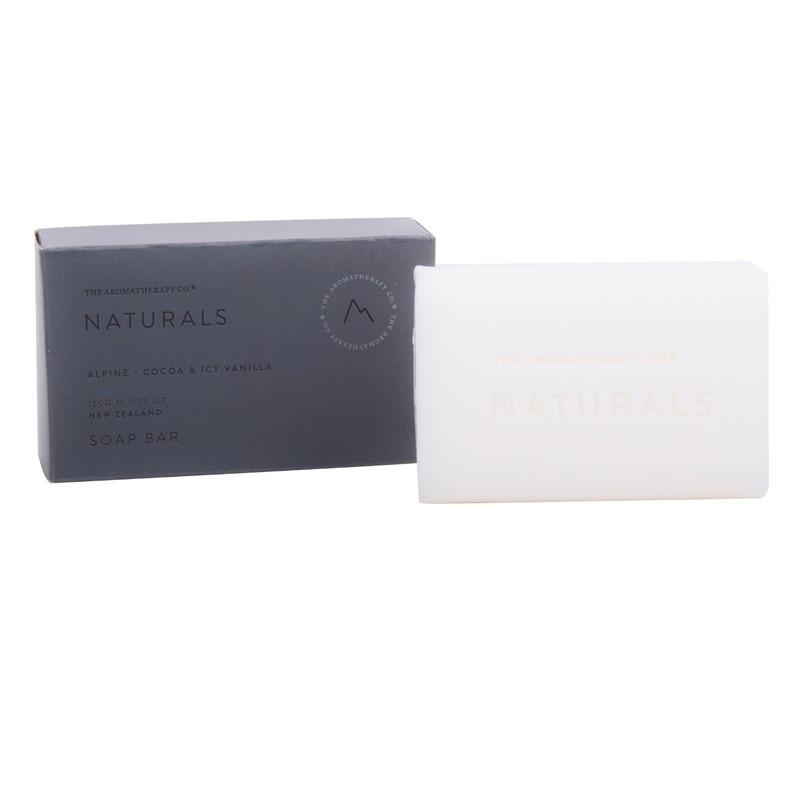 The Aromatherapy Co. - Naturals - Alpine - Soap Bar 150g - Cocoa & Icy Vanilla