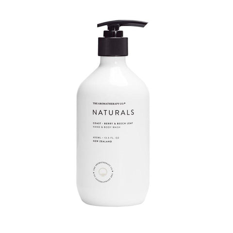 The Aromatherapy Co. - Naturals - Coast - Hand & Body Wash 400ml - Berry & Beech Leaf