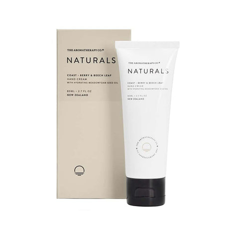 The Aromatherapy Co. - Naturals - Coast - Hand Cream 80ml - Berry & Beech Leaf