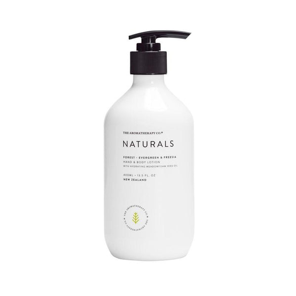 The Aromatherapy Co. - Naturals - Forest - Hand & Body Lotion 400ml - Evergreen & Freesia