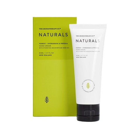 The Aromatherapy Co. - Naturals - Forest - Hand Cream 80ml - Evergreen & Freesia