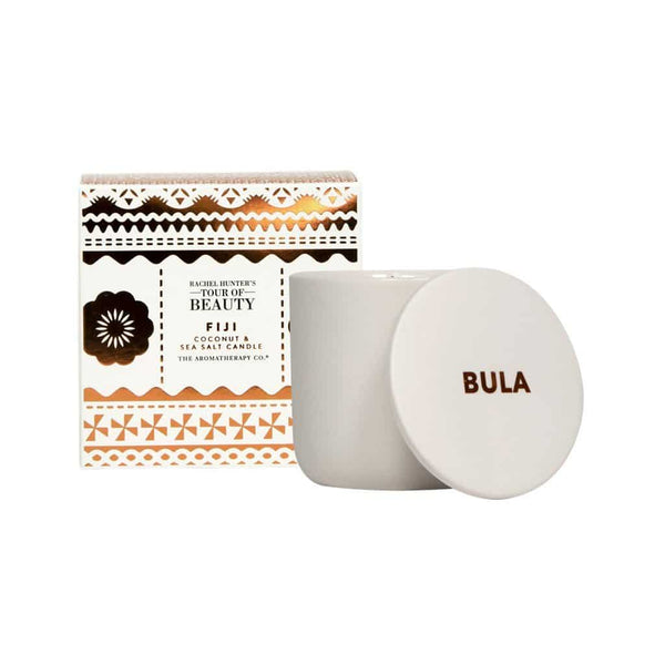 The Aromatherapy Co. - Rachel Hunter's Tour of Beauty - Fiji - Candle 200g - Coconut & Sea Salt