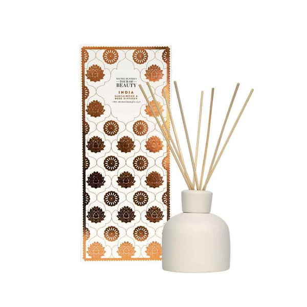 The Aromatherapy Co - Rachel Hunter's Tour of Beauty - India - Diffuser 150ml - Sandalwood & Rose