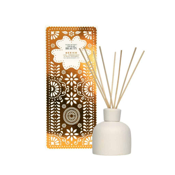 The Aromatherapy Co. - Rachel Hunter's Tour of Beauty - Mexico - Diffuser 150ml - Lime, Tomato Seed & Basil