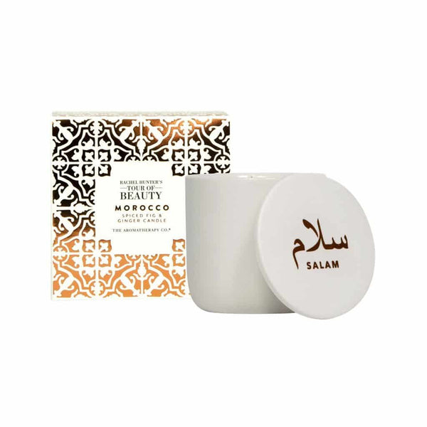 The Aromatherapy Co. - Rachel Hunter's Tour of Beauty - Morocco - Candle 200g - Spiced Fig & Ginger