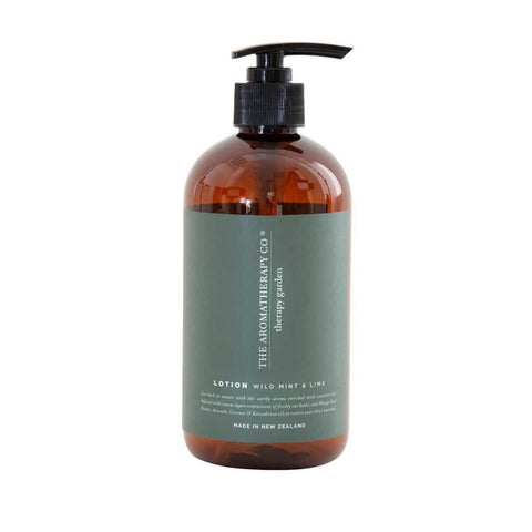 The Aromatherapy Co. - Therapy Garden - Hand & Body Lotion 500ml - Wild Mint & Lime