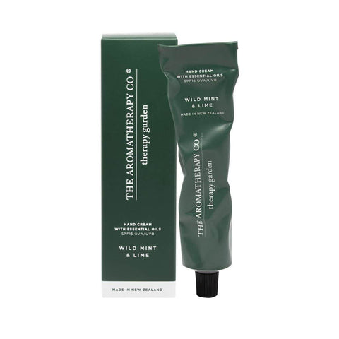 The Aromatherapy Co. - Therapy Garden - Hand Cream 75ml - Wild Mint & Lime
