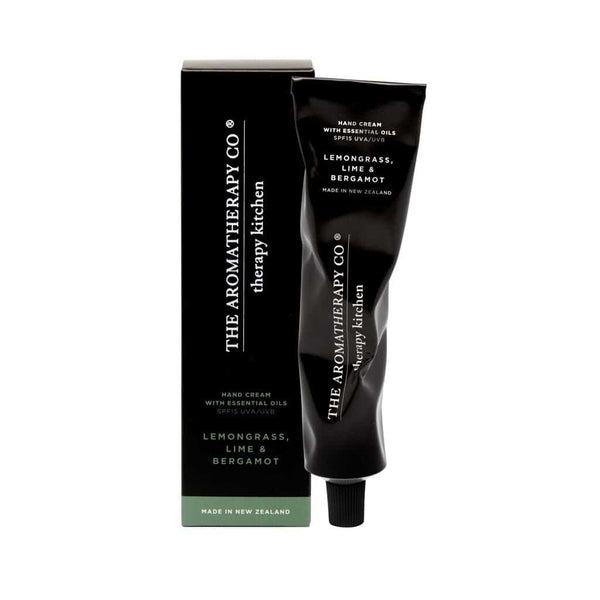 The Aromatherapy Co. - Therapy Kitchen - Hand Cream 75ml - Lemongrass, Lime & Bergamot
