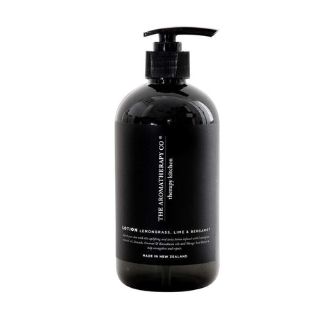 The Aromatherapy Co. - Therapy Kitchen - Hand Lotion 500ml - Lemongrass, Lime & Bergamot