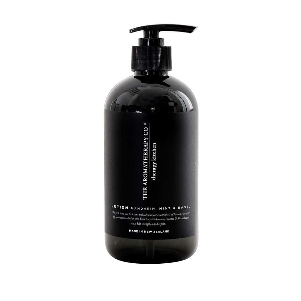 The Aromatherapy Co. - Therapy Kitchen - Hand Lotion 500ml - Mandarin, Mint & Basil