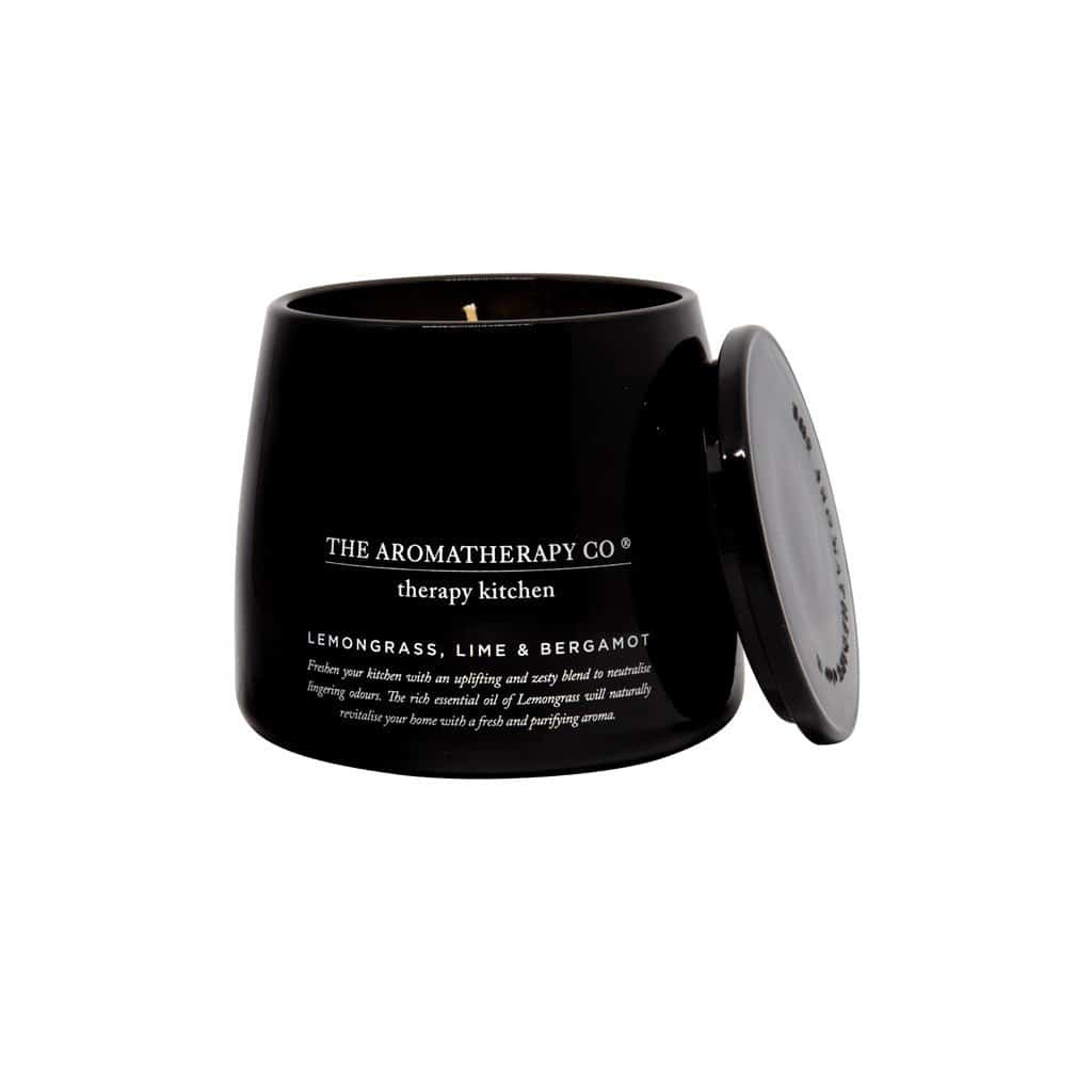 The Aromatherapy Co. - Therapy Kitchen - Soy Wax Candle 260g - Lemongrass, Lime & Bergamot