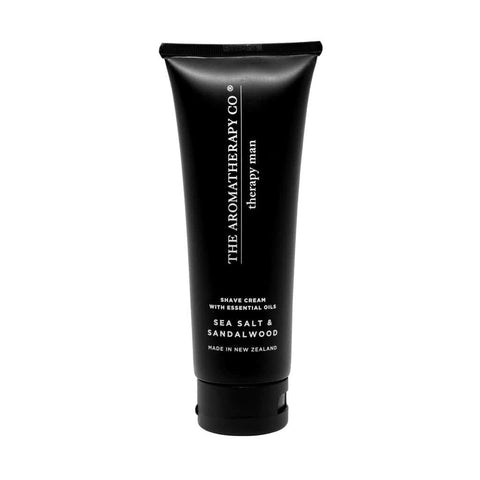 The Aromatherapy Co. - Therapy Man - Shaving Cream 100ml - Sea Salt & Sandalwood - The Aromatherapy Co - Oscura - Bath, Body & Home Fragrance