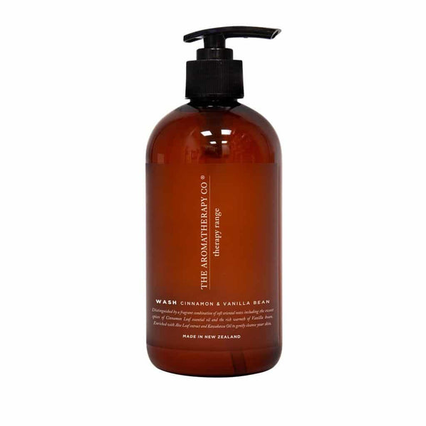The Aromatherapy Co. - Therapy Range - Balance - Hand & Body Wash 500ml - Cinnamon & Vanilla Bean
