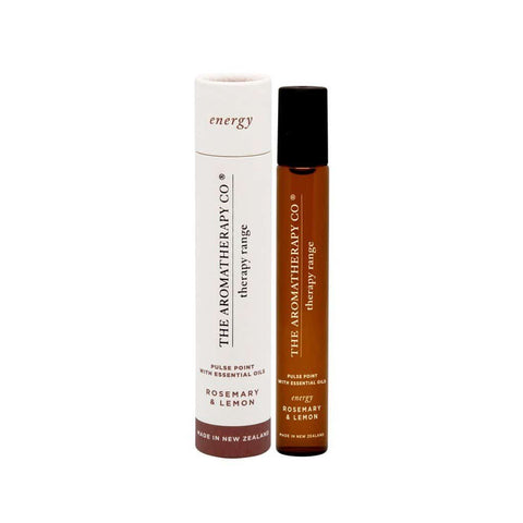 The Aromatherapy Co. - Therapy Range - Energy - Pulse Point 15ml - Rosemary & Lemon