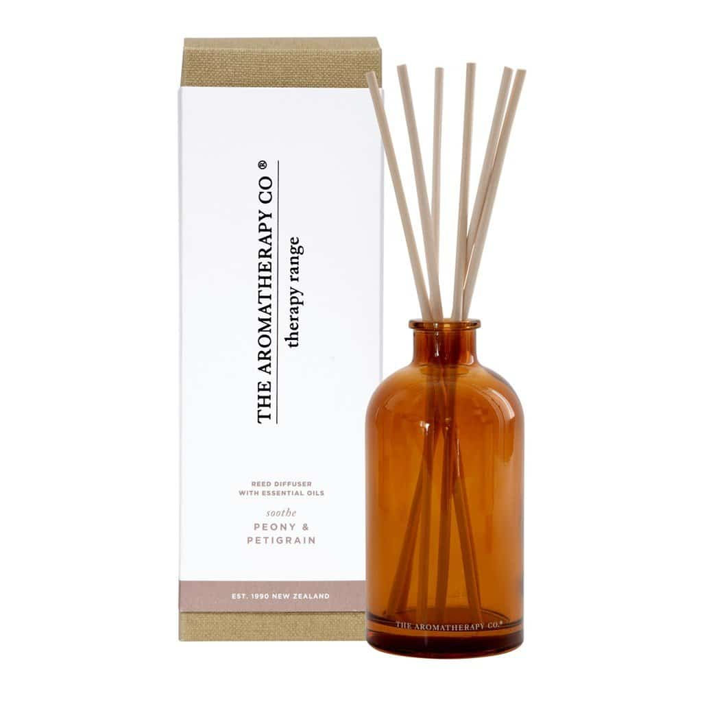 The Aromatherapy Co. - Therapy Range - Soothe - Diffuser 250ml - Peony & Petigrain