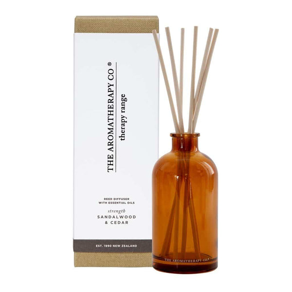 The Aromatherapy Co. - Therapy Range - Strength - Diffuser 250ml - Sandalwood & Cedar