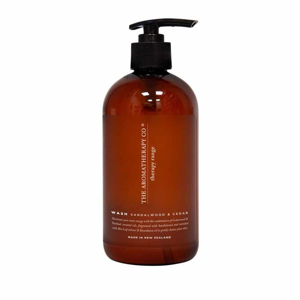 The Aromatherapy Co. - Therapy Range - Strength - Hand & Body Wash 500ml - Sandalwood & Cedar