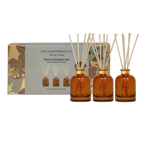 The Aromatherapy Co. - Therapy Range - Trio Diffuser Set - 3x50ml