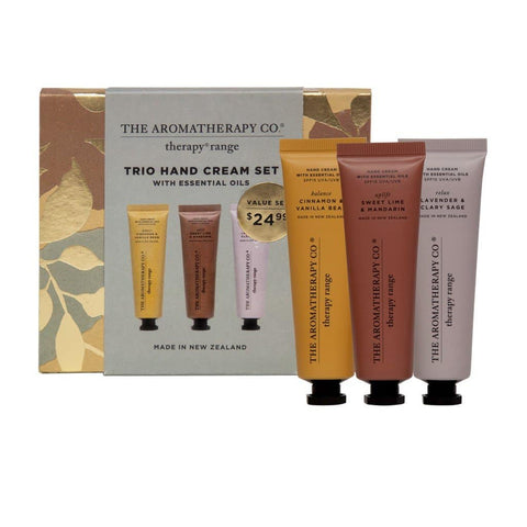 The Aromatherapy Co. - Therapy Range - Trio Hand Cream Set - 3x30ml