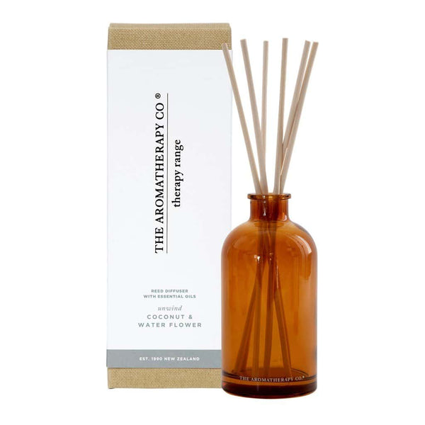 The Aromatherapy Co. - Therapy Range - Unwind - Diffuser 250ml - Coconut & Water Flower