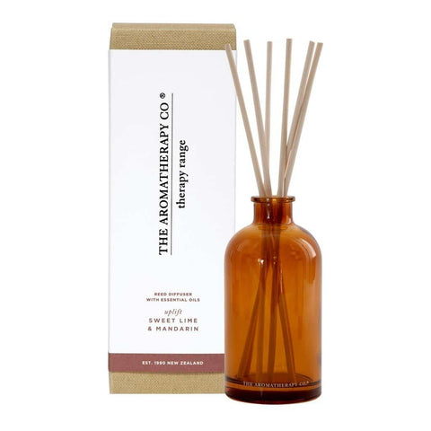 The Aromatherapy Co. - Therapy Range - Uplift - Diffuser 250ml - Sweet Lime & Mandarin