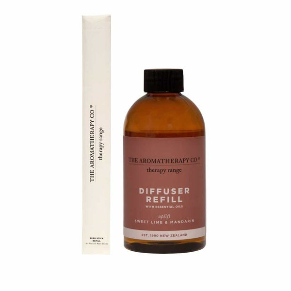 The Aromatherapy Co. - Therapy Range - Uplift - Diffuser Refill 250ml - Sweet Lime & Mandarin