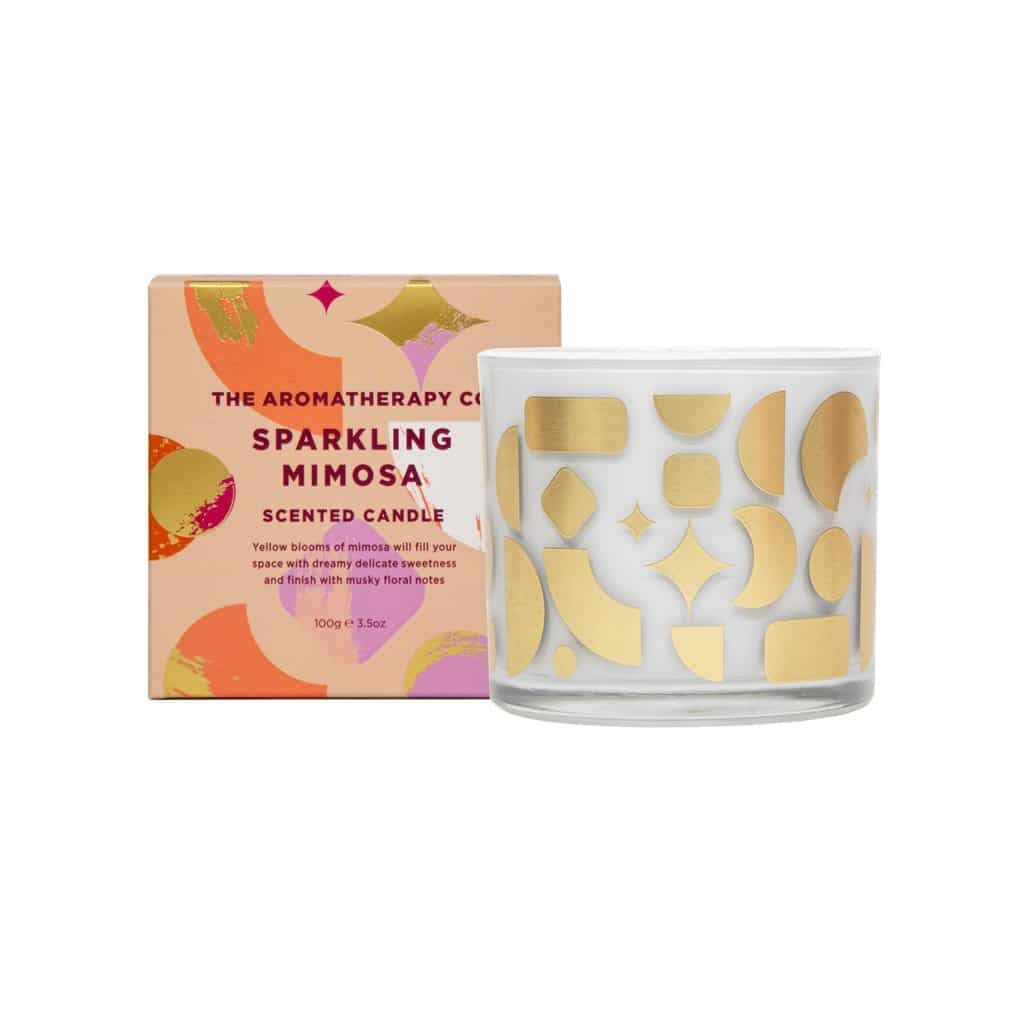 The Aromatherapy Co. - Votive Candle 100g - Sparkling Mimosa