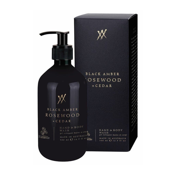 Urban Rituelle - Alchemy - Hand & Body Wash 500ml - Black Amber, Rosewood & Cedar