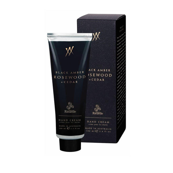 Urban Rituelle - Alchemy - Hand Cream 100ml - Black Amber, Rosewood & Cedar