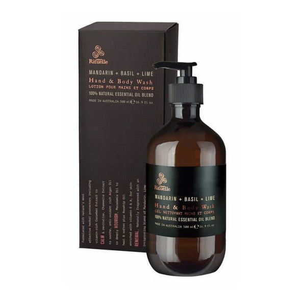 Urban Rituelle - Equilibrium - Hand & Body Wash 500ml - Mandarin, Basil & Lime - Urban Rituelle - Oscura - Bath, Body & Home Fragrance