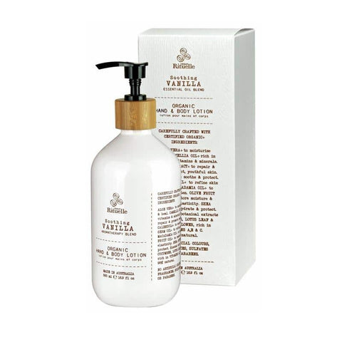 Urban Rituelle - Flourish - Organic Hand & Body Lotion 500ml - Vanilla Blend